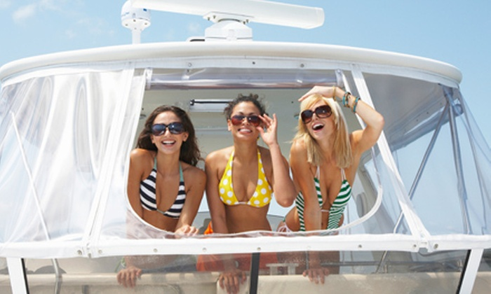 Miami Water Sports - Miami Beach: $179 for Two-Hour Private-Party-Boat Tour for Up to 10 from Miami Water Sports in Miami Beach ($529 Value)