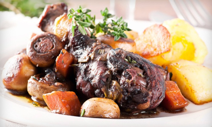 Le Sanglier - Tarzana: $59 for a Four-Course French Dinner for Two at Le Sanglier in Tarzana ($140 Value)