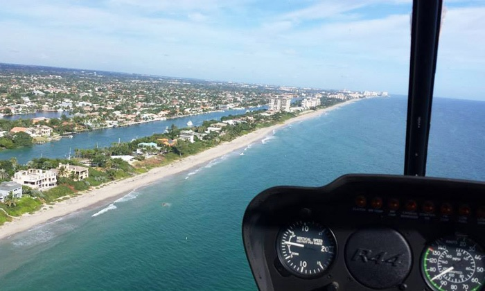 Boca Raton Helicopters - Boca Raton: $140 for an Intro Helicopter-Flying Course from Boca Raton Helicopters ($250 Value)