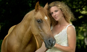Desired Focus Photography: One- or Two-Hour Photography Session with Horse of Your Choice from Desired Focus Photography (Up to 60% Off)