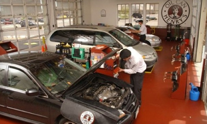 Oil Can Henry's - Fairfield: $50 Worth of Oil Changes and Maintenance