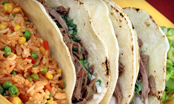 Los Tacos - Multiple Locations: $15 Worth of Authentic Mexican Fare