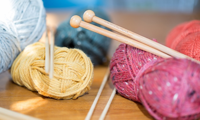 Knitting101.org - Multiple Locations: Knitting Classes at Knitting101.org (Up to 75% Off). Three Options Available.