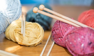 Inskein Yarns: BYOB Introductory Knitting or Crocheting Class for One, Two, or Four at Inskein Yarns (Up to 54% Off)