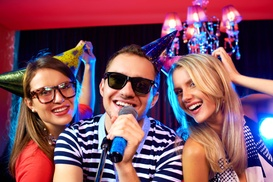 HQ49: Up to 46% Off Pub Food, Drinks, and Karaoke at HQ49