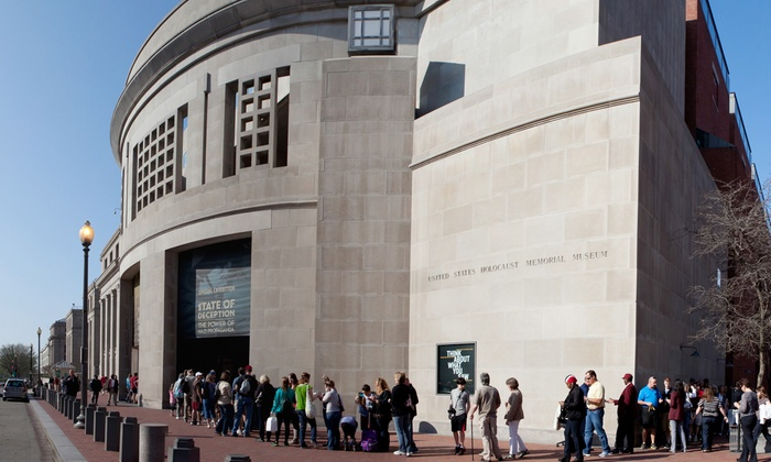 United States Holocaust Memorial Museum - Southwest Washington: Membership Packages with Two or Four Priority Passes to the United States Holocaust Memorial Museum