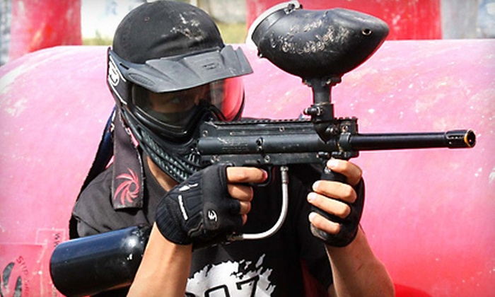 907 Paintball - South Anchorage Sports Park: $65 for an All-Day Paintball Outing with Gun, Mask, Air, and Ammo for Four at 907 Paintball ($160 Value)