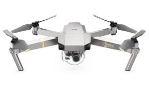 DJI Mavic Pro Platinum Drone with Gimbal-Stabilized 12MP Camera