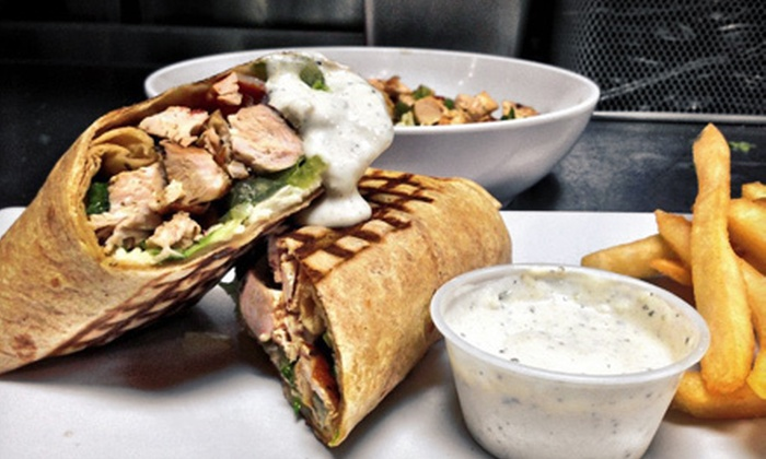 Greek City Cafe - Tampa: $10 for $20 Worth of Greek Cuisine at Greek City Cafe