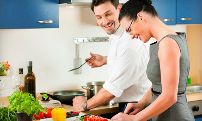 Healthy Palate - San Francisco: In-Home Healthy-Cooking Class and Wine for Two, Four, or Six from Healthy Palate (Up to 72% Off)