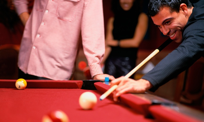 Sandcastle Billiards - Edison: Two or Four Hours of Pool for Two People at Sandcastle Billiards (50% Off)