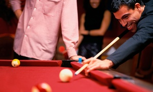 Sandcastle Billiards: Two or Four Hours of Pool for Two People at Sandcastle Billiards (56% Off)