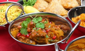 Voujon: Two-Course Indian Meal for Two or Four at Voujon (Up to 48% Off)