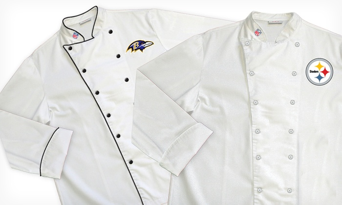 new style 97df0 dd002 NFL AFC North Chef Coats   Groupon