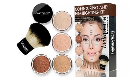 BelláPierre Cosmetics Mineral Contouring and Highlighting Kit