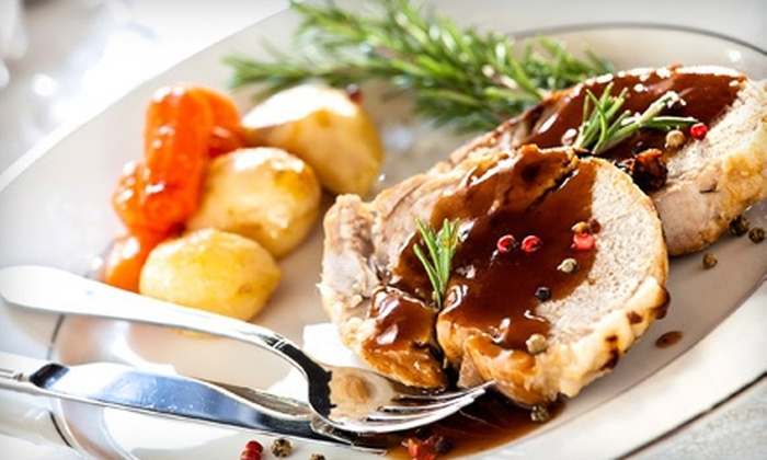 The Wild Rose - The District: $15 for $30 Worth of Upscale American Cuisine and Drinks at The Wild Rose