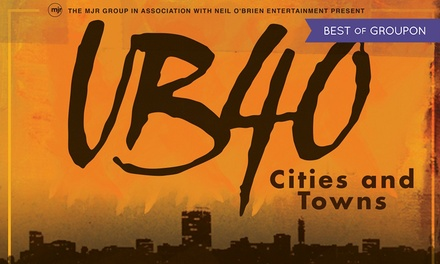 UB40 Cities & Towns Tour, 4–22 December at 14 Locations