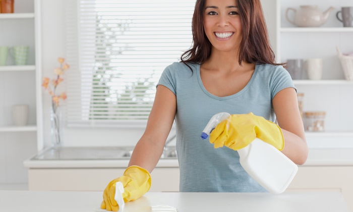Homejoy Cleaning - Houston: Three Hours of Housecleaning with One or Three Months of Future Discounted Cleaning from Homejoy (Up to 59% Off)
