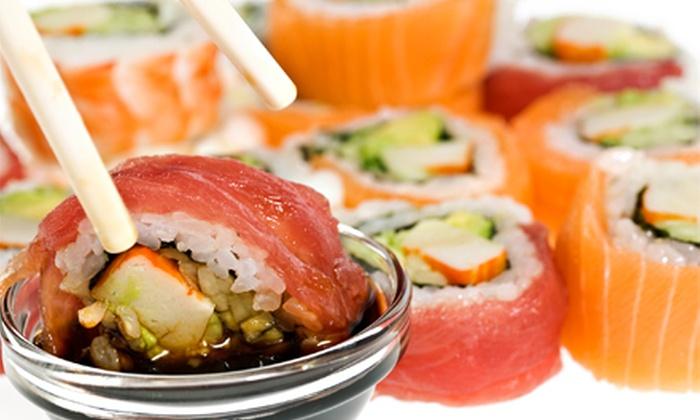 Sake Sushi - Sake Sushi: Sushi, Japanese Cuisine, and Fusion Sandwiches at Sake Sushi (Up to 52% Off). Three Options Available.