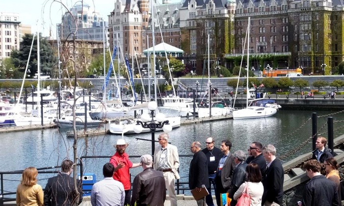 Discover the Past - Multiple Locations: Historical Walking Tour of Victoria for Two, Four, or Six from Discover the Past (47% Off)