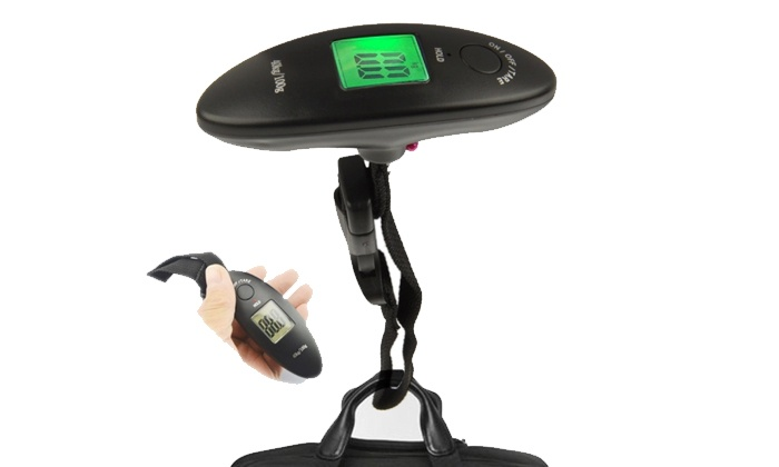 Groupon Goods: Electronic Luggage Scale for R149.99 Including Delivery (40% Off)