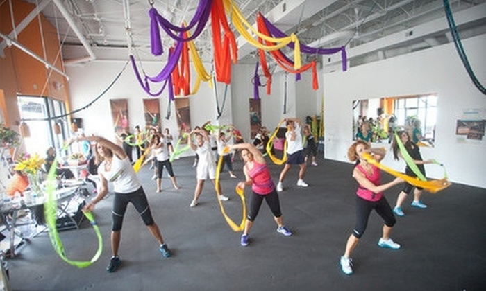 Fullbody Fitness Club - Brentwood: One Month of Unlimited Barre, Aerial, or Core Stix Classes at Fullbody Fitness Club (Up to 83% Off)