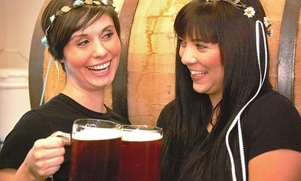 Oddtoberfest Beer and Pizza Festival for One or Up to Four on September 20 from Odd Moe's Pizza (Up to 50% Off)
