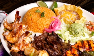 Tacos and Tequila Cantina: Upscale Mexican Food at Tacos & Tequila Cantina Grill (40% Off). Two Options Available.