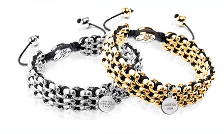 One or Two Personalized Kismet Links Bracelets from Joseph Nogucci (Up to 77% Off)
