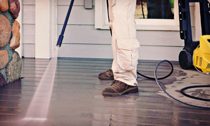 Extreme Finish - Neenah: $99 for Up to 2,000 Square Feet of Pressure Washing from Extreme Finish ($300 Value)