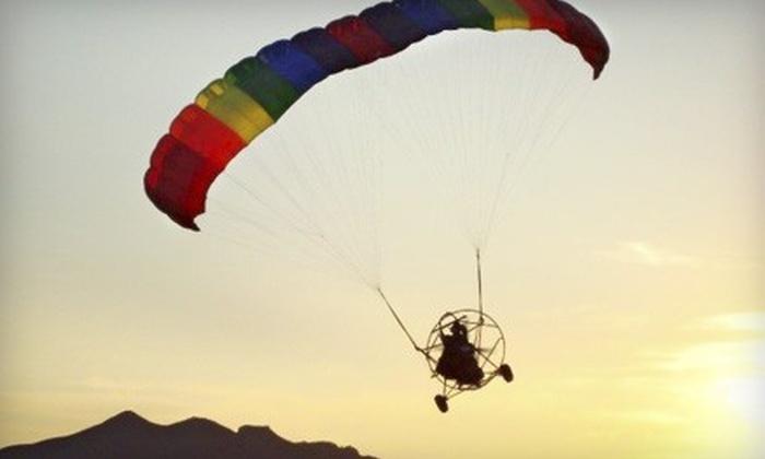 Arizona Powerchutes - Desert View: $125 for a Powered-Parachute Lesson from Arizona Powerchutes ($289 Value)