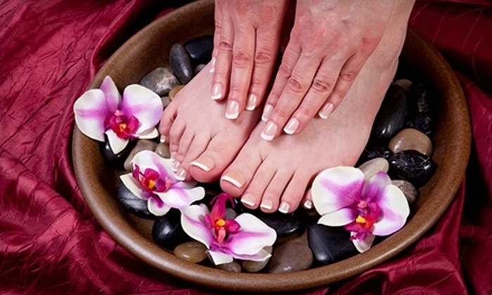 Social Agenda Salon and Boutique - Jackson: One Classic Mani-Pedi or Two Shellac Manicures at Social Agenda Salon and Boutique (Up to 56% Off)