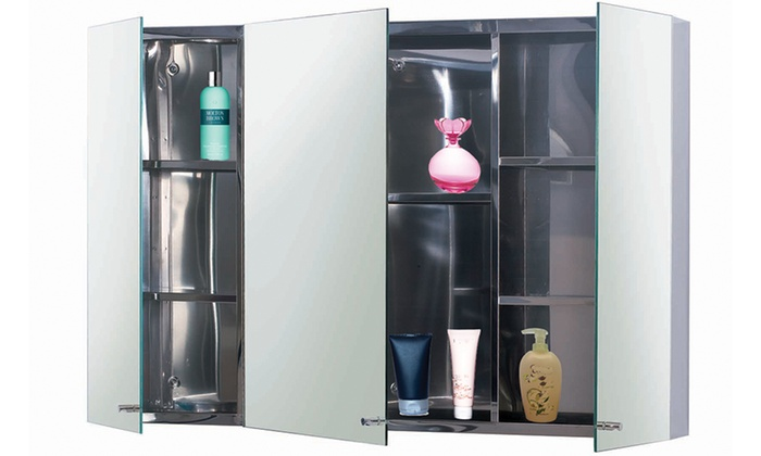 Stainless Steel Mirror Cabinets Groupon Goods