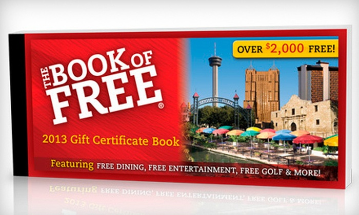 Book of Free: $27 for the Book of Free 2013 Gift-Certificate Book Including Shipping ($55.99 Value)