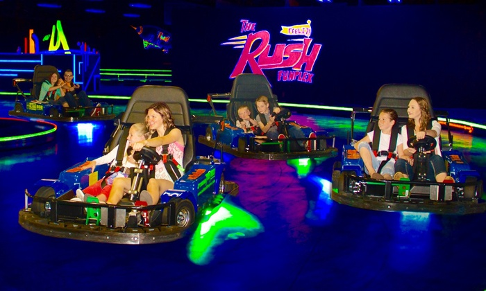 The Rush Funplex - Syracuse: $39 for Full-Day, Unlimited Passes and Pool Access for Two at The Rush Funplex ($65.90 Value)