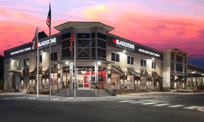 Blackstone Shooting Sports - Charlotte: $29 for All-Day Package with Gun Rental and Protective Gear at Blackstone Shooting Sports ($402.50 Value)