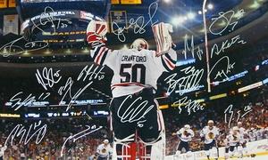 Schwartz Sports Memorabilia: Chicago Blackhawks Memorabilia from Schwartz Sports Memorabilia (Up to $430 Off). Ten Options Available.