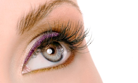 One or Two Full Sets of Regular or Mink Eyelash Extensions with Fills at Creative Lashes by Casey (Up to 56% Off)