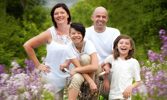 Art and Soul Photography - Waterloo: C$56 for an In-Studio or On-Location Family Photo Shoot  from Art and Soul Photography (C$310.70 Value)