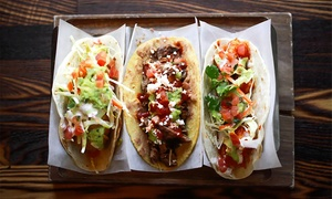 Taco Libre Truck Showdown: 1 or 2 All-You-Can-Eat Taco Passes at Taco Libre Truck Showdown Presented by Mobile Food Rodeo (Up to 23% Off)