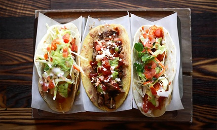 1 or 2 All-You-Can-Eat Taco Passes at Taco Libre Truck Showdown Presented by Mobile Food Rodeo (Up to 23% Off)