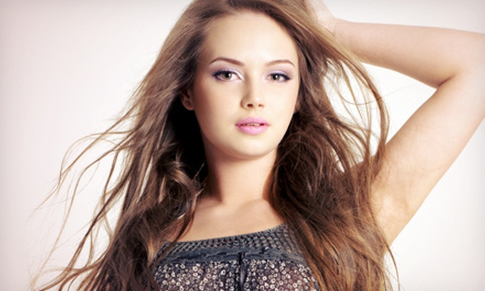 Mari Ring at Maximus Salon - Hermosa Beach: Haircut, Gloss Treatment, Color or Partial Highlights, Conditioning, and Blow-Out from Mari Ring (55% Off)