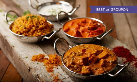Up to 50% Off Buffet at KAMA Classical Indian Cuisine