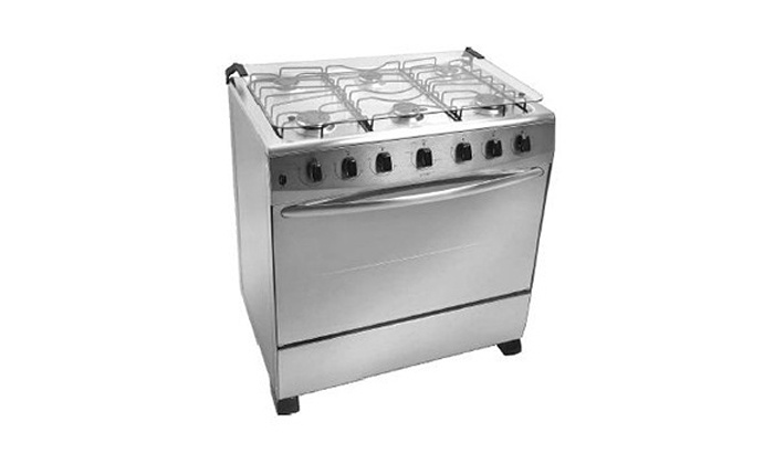 Groupon Goods: Six-Plate Metallic Gas Cooker with Oven for R4 319.99 Including Delivery (34% Off)