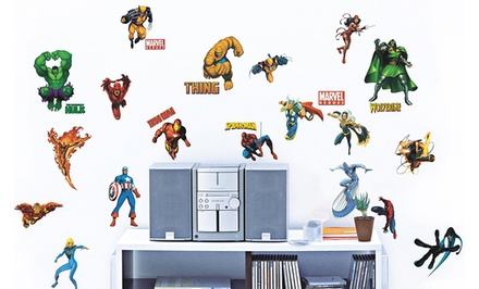 Marvel Super Heroes Wall Decals