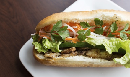 Vietnamese Meat Roll or Cold Roll and Drink for One $6 or Four People $21 at Saigon Meat Rolls Up to $41.60 Value
