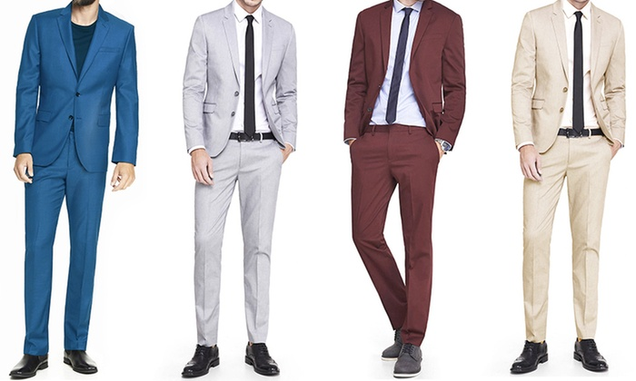 Bernardi Men's 2-Piece Suit | Groupon Goods