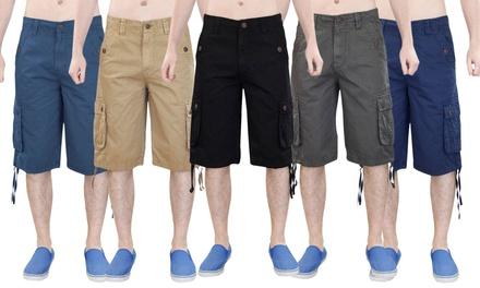 Mens True Face Cargo Shorts