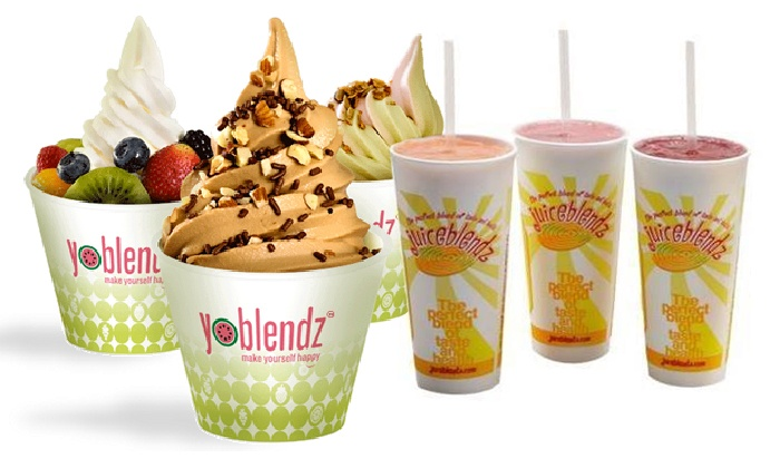 Juiceblendz - Heartside-Downtown: $6 for $10 Worth of Smoothies and Frozen Yogurt, or Two 16-ounce Juices at Juiceblendz (Up to Half Off)
