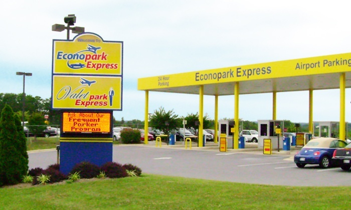Econopark Express - BWI Airport Parking: Three, Five, or Seven Consecutive Days of Airport Parking with Free Shuttle Service (Up to 39% Off)